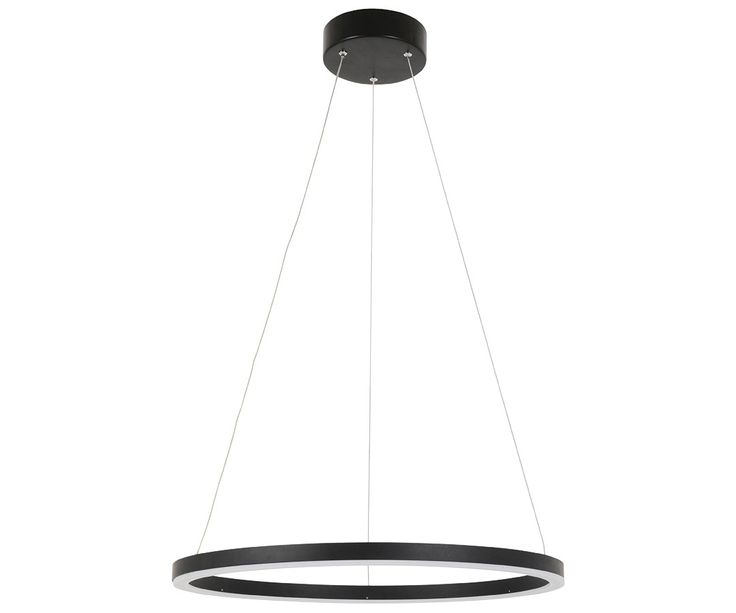 LEDlux Circa Ring 1600 Lumen Dimmable Pendant in Black