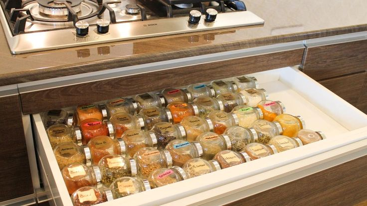 Spice storage solution | Organize spices using cheap Ikea spice jars