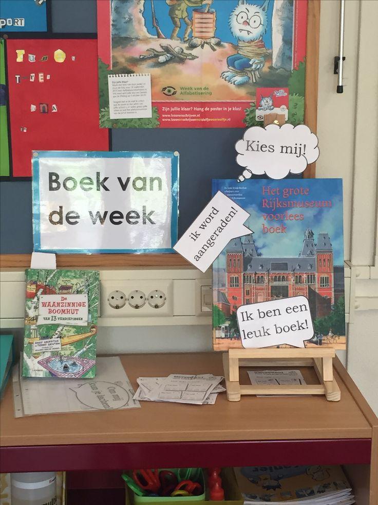 Boek van de week met stempelkaarten!
