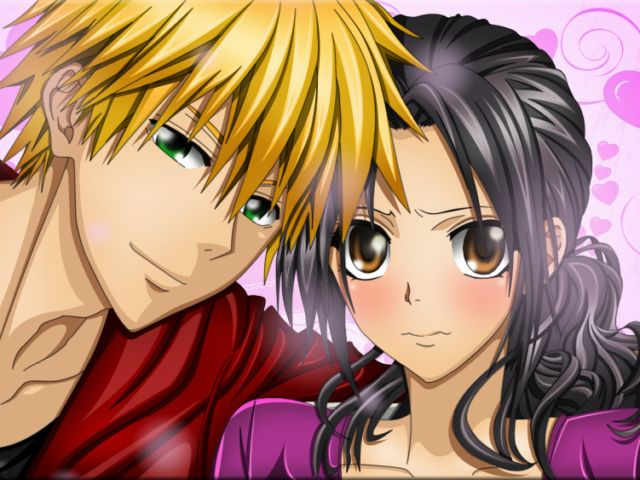 Misaki and Usui Kaichou wa Maid Sama Romantic Anime Couples ...
