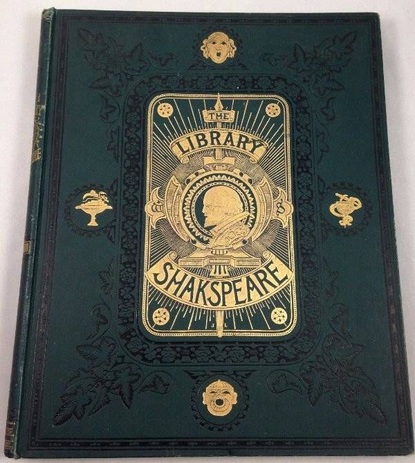 Library of Shakespeare Vol I Comedies John Gilbert George Cruikshank R Dudley