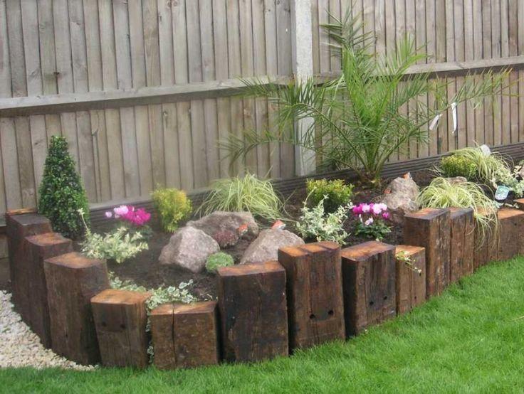 30+ DIY Garden Bed Edging Ideas