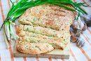Луково - сырный хлеб.