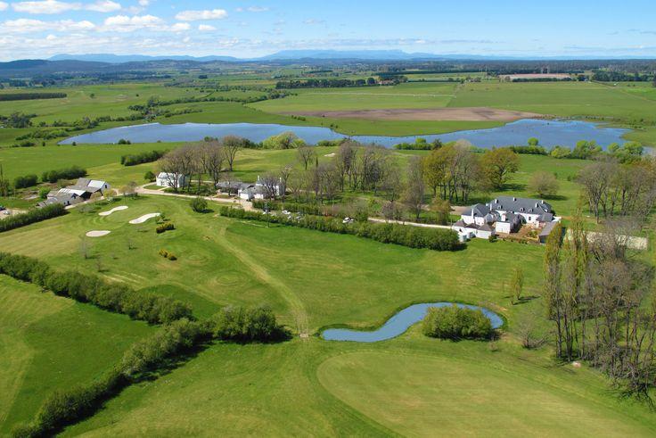 Quamby Estate Aerial View #quambyestate #meandervalley #tamarvalley #launceston #tasmania #golfcourse #hotel