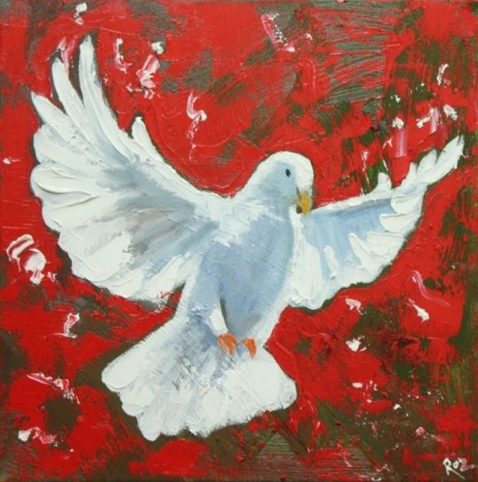 The dove of Peace - Pentecost is coming!