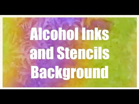 This video tutorial will show you how to make really cool backgrounds with Alcohol Ink and stencils!  Visit this blog post: http://catherinepooler.com/?p=26732