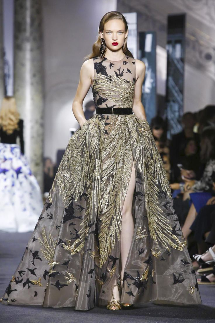 Elie Saab Haute Couture Fall/Winter 2016 Paris Collection ,I think we're going to see a lot of Elie Saab in red carpet next year