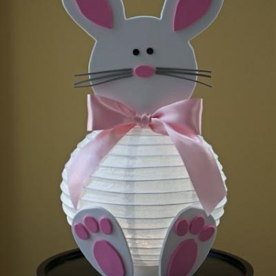 DIY Easter Bunny Lantern {Easter Ideas}