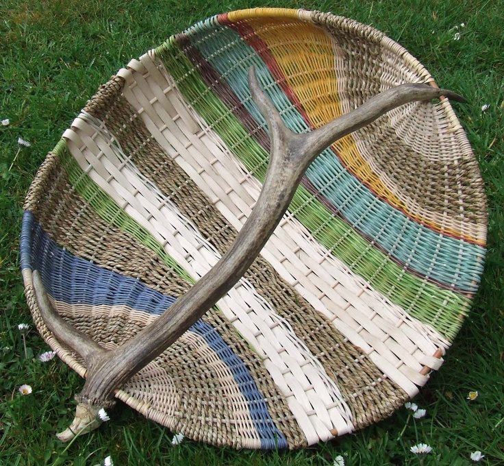 Simple Basket Weaving Willow : Best images about basketry on antlers