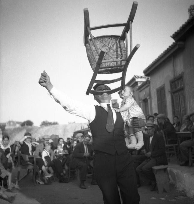 Luciano Morpurgo. Λαύριον, Πάσχα, 1936