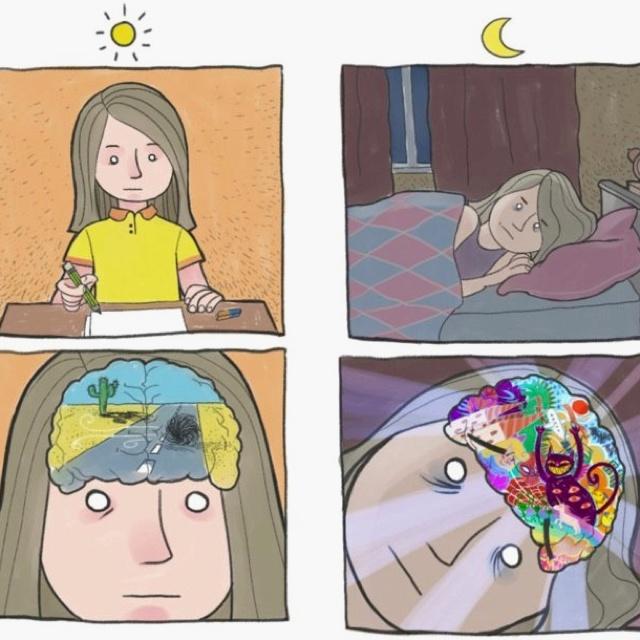 Праздник вознесение, смешные картинки про мысли перед сном