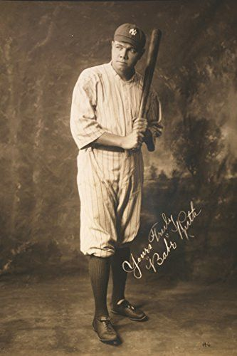 BABE RUTH POSTER Early Years RARE HOT NEW 24x36