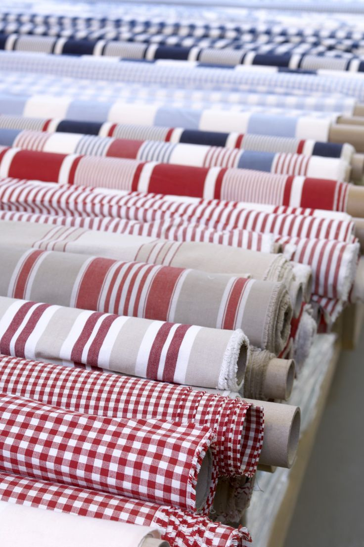 mooie katoenen basic strepen en ruiten - gestreepte stof - geruite stof…
