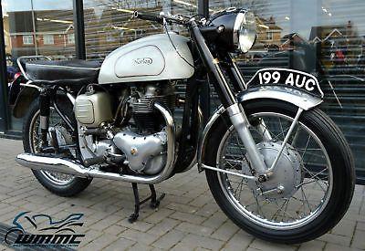 eBay: 1960 NORTON DOMINATOR 99 SLIMLINE 600cc * TAX EXEMPT - 12 MONTHS MOT * CLASSIC #motorcycles #biker