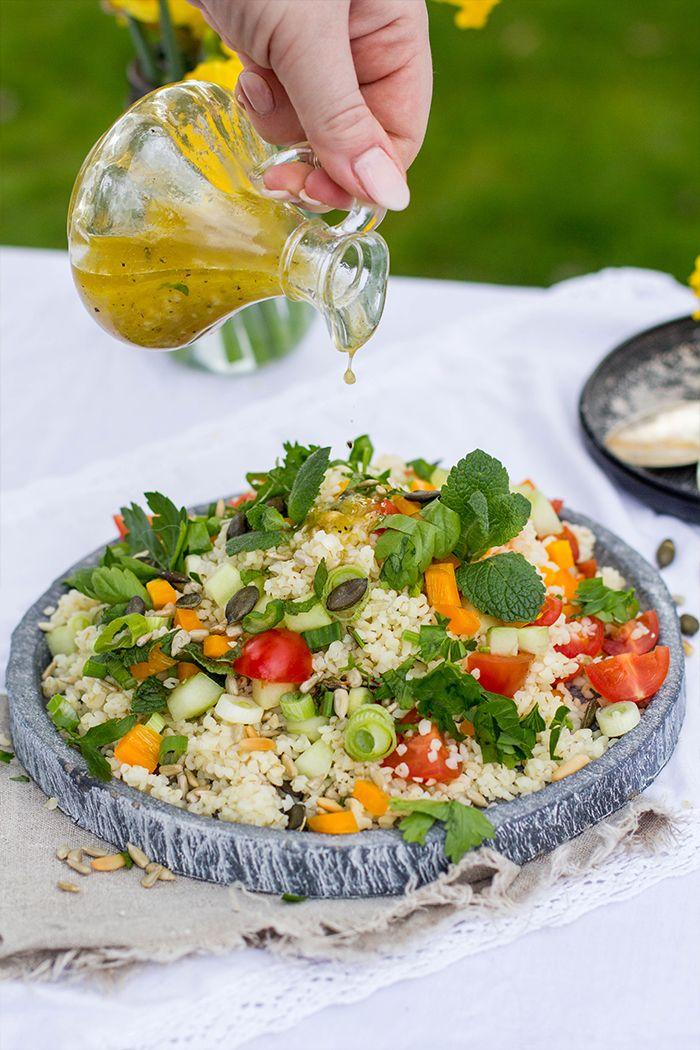 Bunter Bulgur Salat