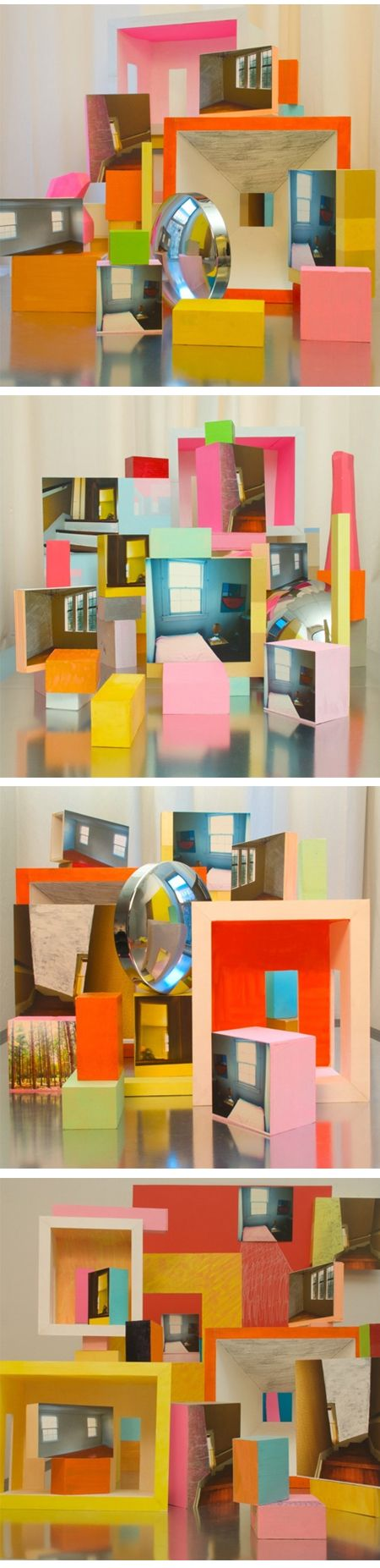 series of still life photographs {titled Our Home My Home} by New York based artist Erin O'Keefe.