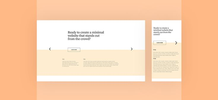 How To Create An Entirely Horizontal Swipe Page With Divi Web Design Web Design Trends Web Design Tutorials