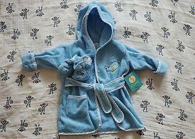 Baby Boy Spasilk Bathrobe 0-9 months.. USD 6.0