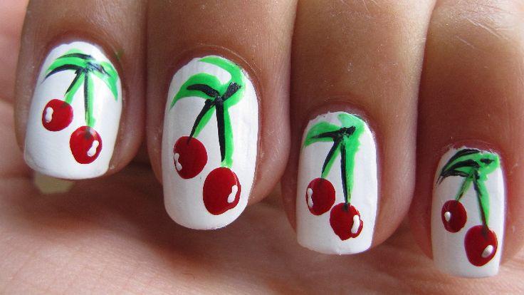 fruit nail | NailArt | nadiavanvliet.nl