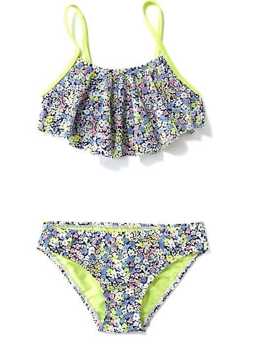 Ruffle Top Bikini Set For Girls Baby Stuff Pinterest Bikinis