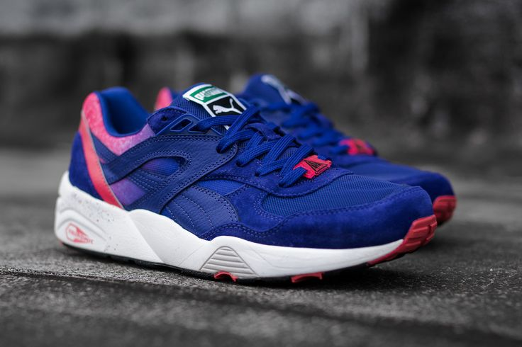 "Puma Trinomic R698 ""Splatter"" (Mazarine Blue) 