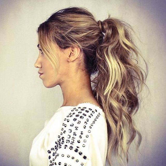 28 Messy Ponytails For Every Occasion Hairstyle Guru Ponytails