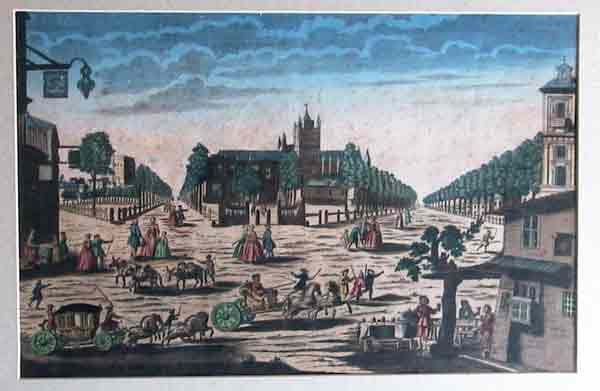 Paris, 1790 - painter: J. Chereau * Hungarian sybils in Paris * Esoteric Tour * www.lenormand.hu