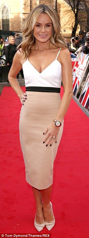 Leading ladies: Alesha Dixon and Amanda Holden will be back for their weekly fashion face-offs