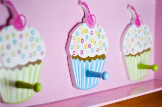 percheros de cupcake