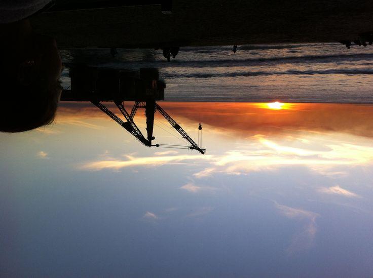 #puestadesol #sunset en Viña del Mar