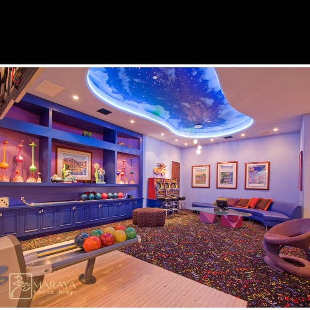 Loft / Basement Ideas. Bowling Alley