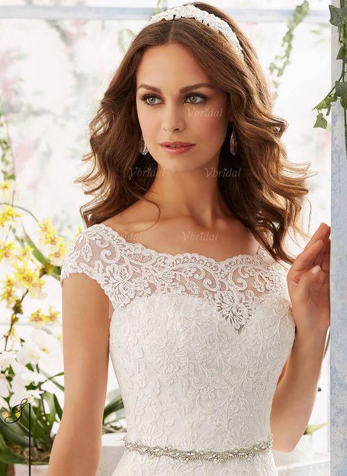 ... Saal Hochzeitsfeier Nein Frühling Sommer Herbst Elfenbein Brautkleid