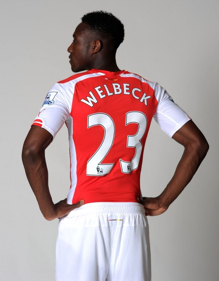 Pictures: Danny Welbeck in Arsenal kit | News Archive | News | Arsenal.com