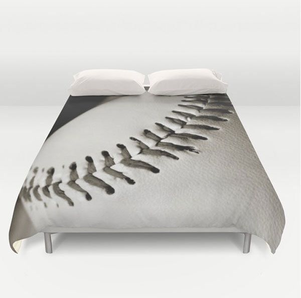 Sports Duvet Cover-Baseball Duvet Cover-Sports Bedding-White & Brown Bedding-Boys Bedroom Decor-Athletic Bed Cover-Twin/Full/Queen/King by NaturalLightStudio on Etsy https://www.etsy.com/listing/248473851/sports-duvet-cover-baseball-duvet-cover