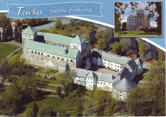 I went to visit our former exchange student, Paula, at her home in Turku, Finland and we toured Turku Castle together. Good times!
