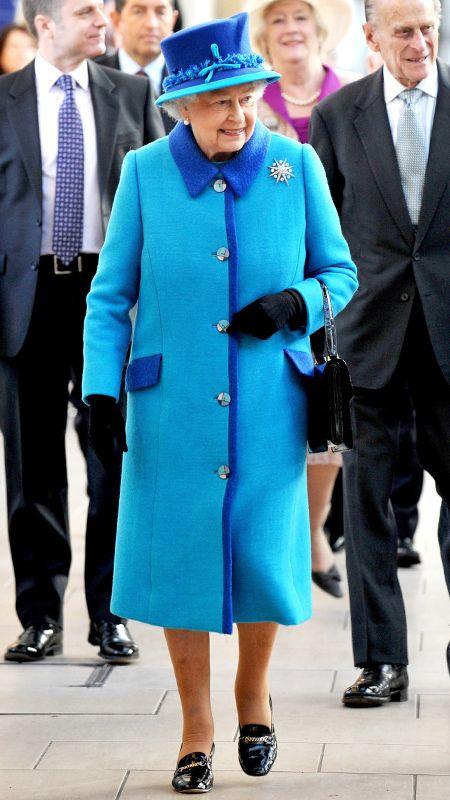 La regina Elisabetta II e del Principe Filippo