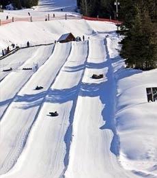 This Tuesdays adventure @ Whistler Tube Park!