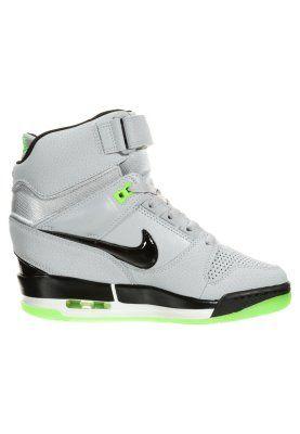 AIR REVOLUTION SKY - Sneakers hoog - wolf grey/black/flash lime/white