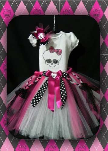 Conjunto Tutu Monster High                                                                                                                                                                                 Mais