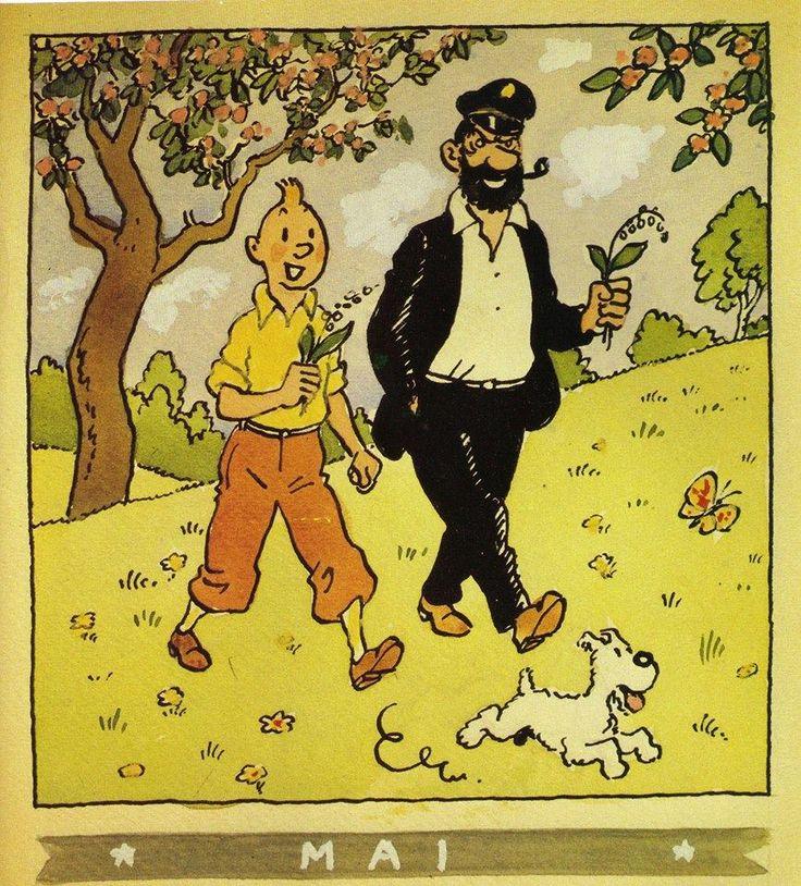 Tintin /Mai (May) 1944