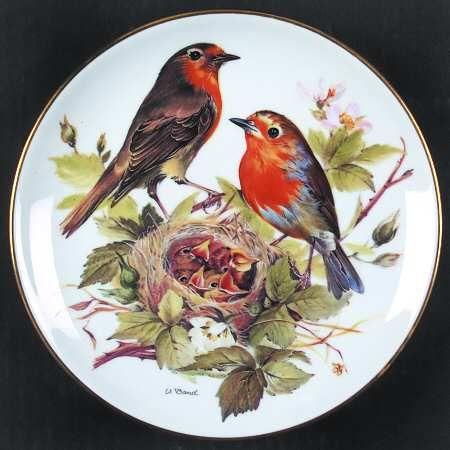 TirschenreuthBand's Songbirds of Europe: Red Robin - Artist: Ursula Band