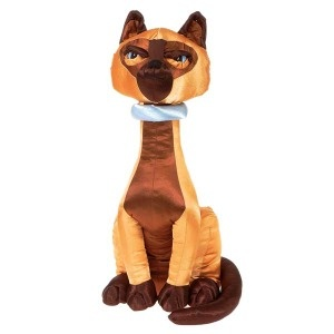 High Society Plush Satin Siamese Cat Tao