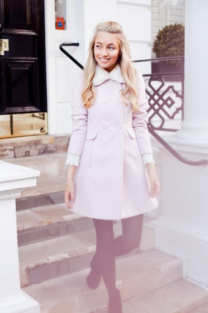 The perfect pink winter coat