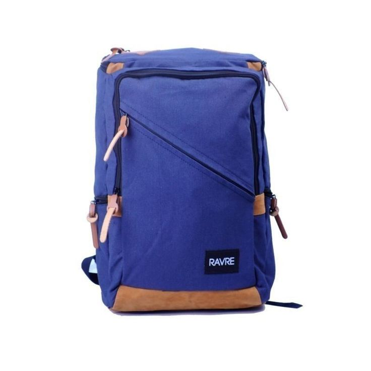 "Stylish Canvas 14"" Laptop Computer Backpack School Travel Waterproof MacBook Bag 