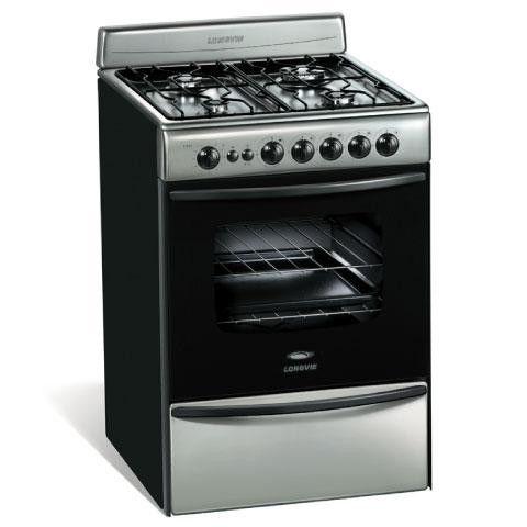 Longvie cocina 4h 56cm 13501x cocinas pinterest for Garbarino cocinas a gas