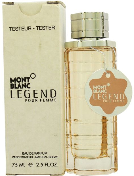 women mont blanc mont blanc legend edp spray (tester)