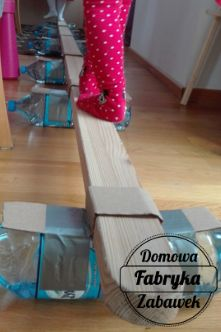 Ćwiczenia na równowagę dla dzieci , diy dla dzieci