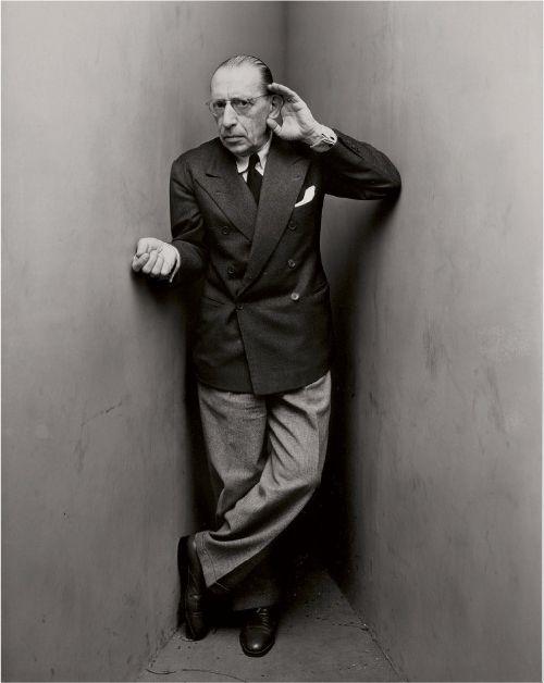Igor Stravinsky by Irving Penn. Su música será recordada para siempre.