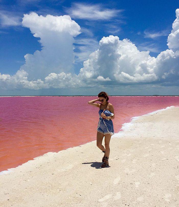 Le somptueux lagon rose du Mexique en 10 photos - page 2