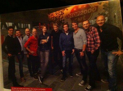 Het team van de Top 2000 editie 2014